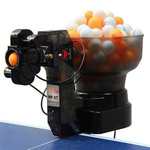 CHAOFAN 36 Spins Ping Pong Ball Machine with Automatic Table Tennis Machine